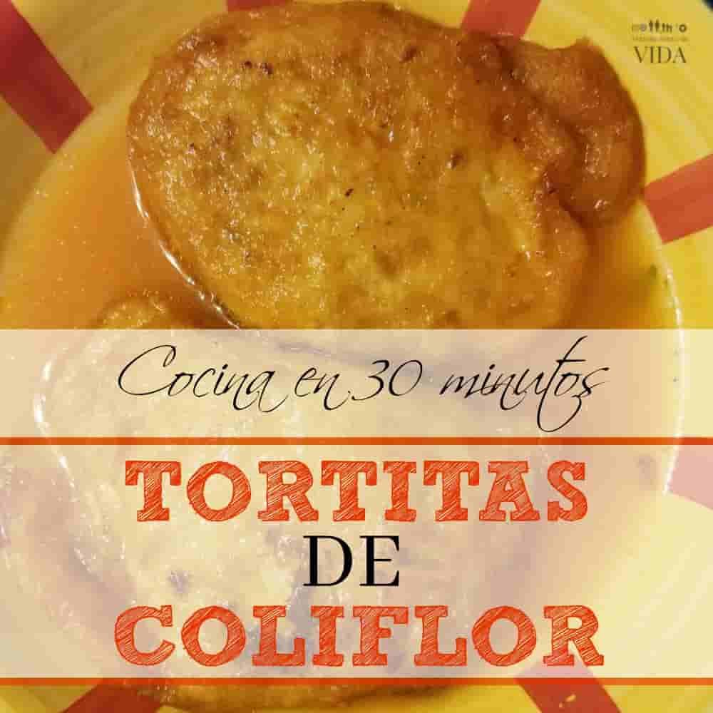 Como preparar Tortitas de Coliflor.